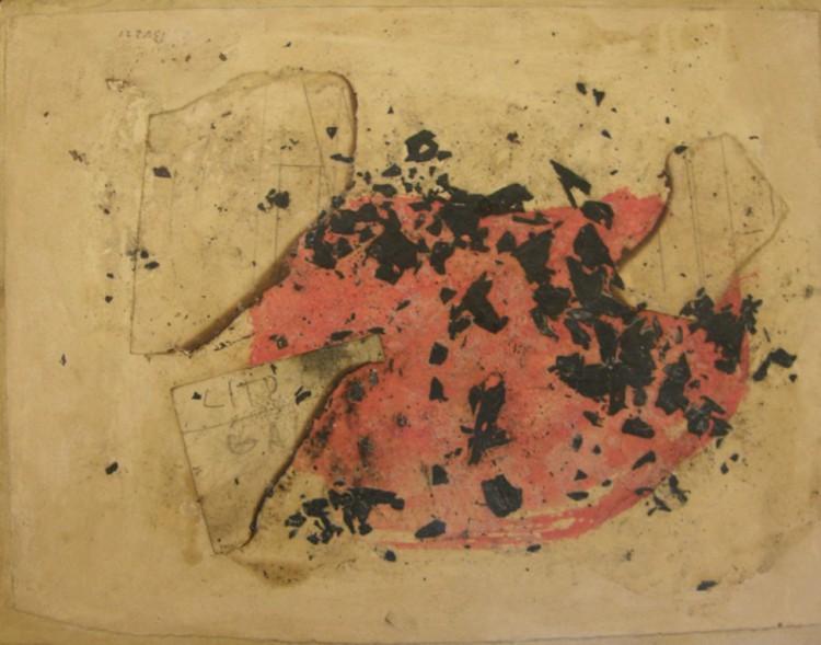 Combustione, 1957 - Alberto Burri