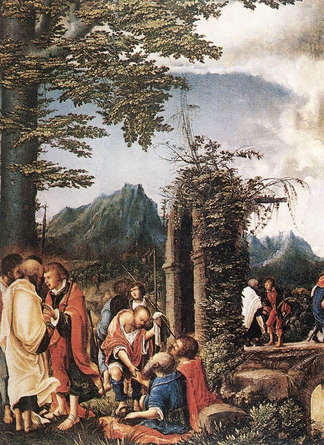 Communion of the Apostles, 1516-1518