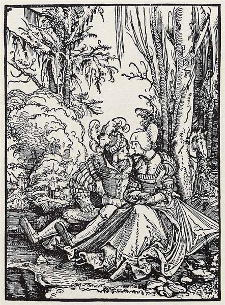 Lovers, 1511 - Albrecht Altdorfer