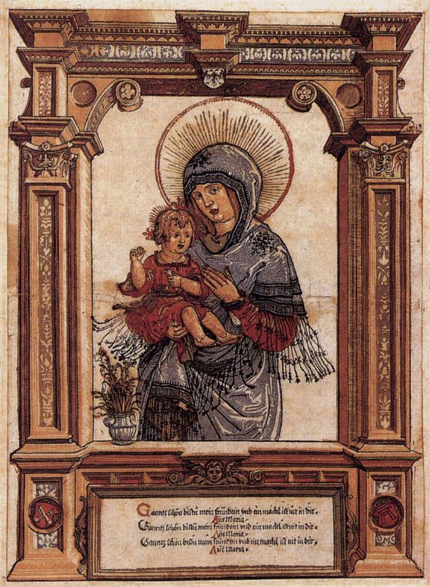 The Beautiful Virgin of Regensburg, 1519-1520