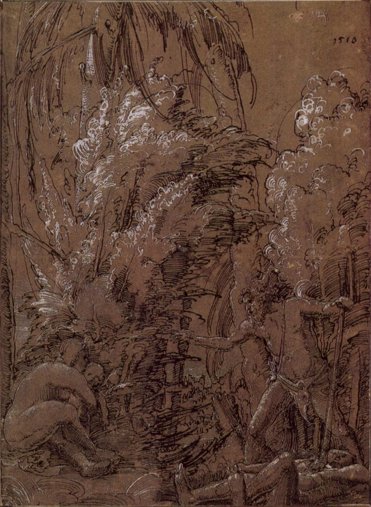 Wild folk family, 1510