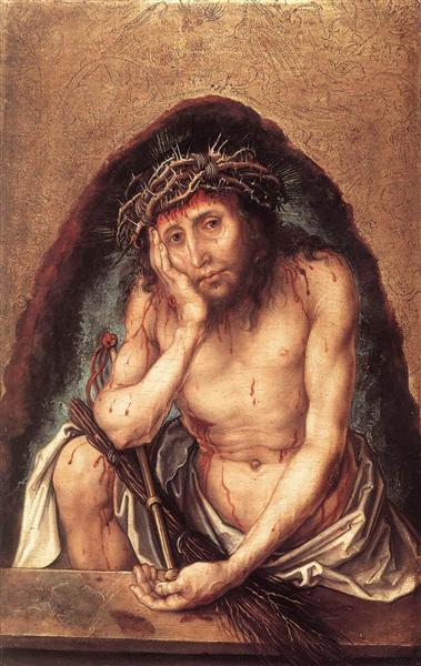 Christ as the Man of Sorrows, 1493 - Albrecht Durer