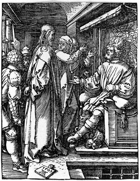Christ before Herod, 1509 - Albrecht Durer