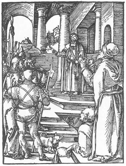 Christ before Pilate, 1511 - Albrecht Durer
