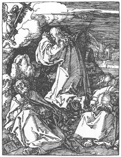 Christ on the Mount of Olives, 1511 - Albrecht Durer