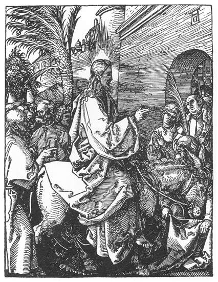 Christ s Entry into Jerusalem, 1511 - Albrecht Durer