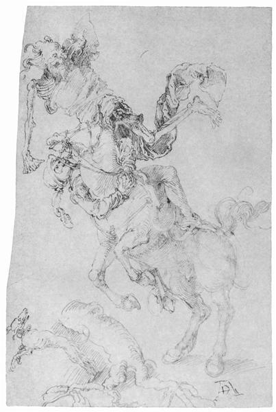 Death and rider, c.1496 - Albrecht Durer
