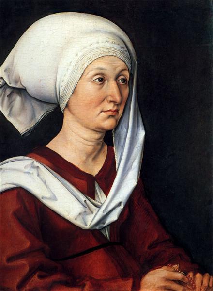 Portrait of Barbara, 1490 - Albrecht Durer