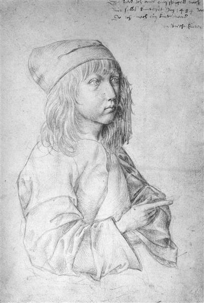 Self-Portrait at 13, 1484 - Albrecht Durer