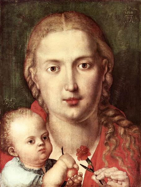 The Madonna of the Carnation, 1516 - Albrecht Durer