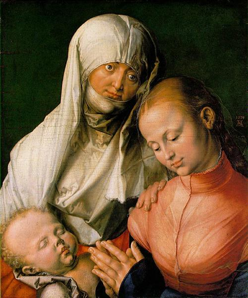The Virgin and Child with St. Anne, 1519 - Albrecht Durer