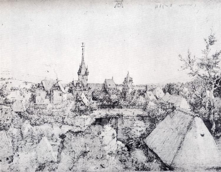 View Of Heroldsberg, 1510 - Albrecht Durer