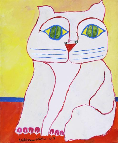 White Cat, 2001 - Aldemir Martins