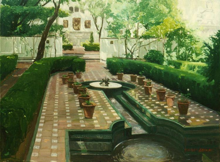 Garden Joaquín Sorolla - Alejandro Cabeza