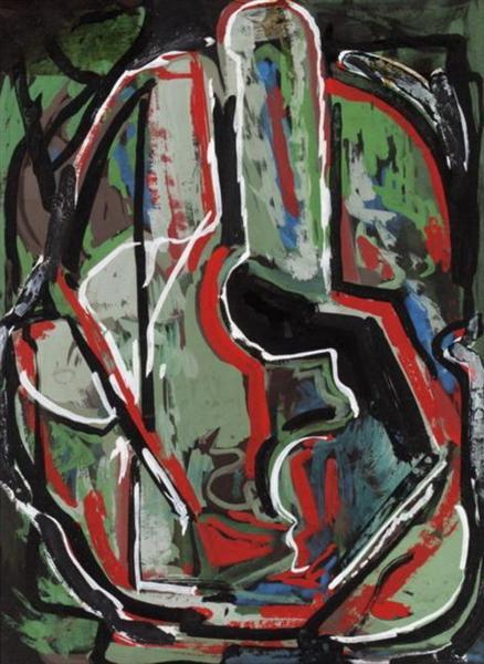 Abstract composition - Alekos Kontopoulos