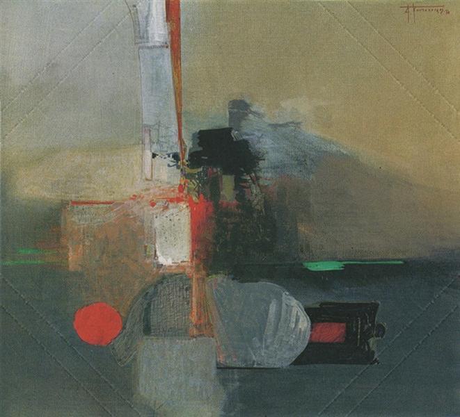 Images, 1974 - Alekos Kontopoulos