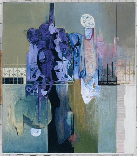 Violets on the Patio - Alekos Kontopoulos