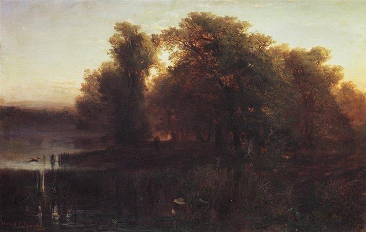Evening Landscape, 1861 - Aleksey Savrasov