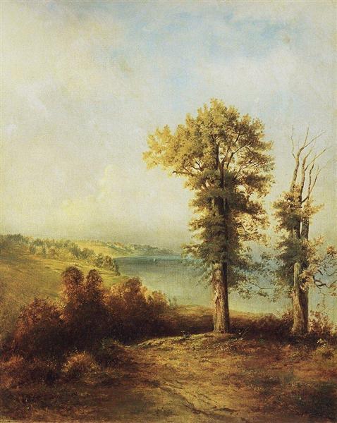 Oaks, c.1850 - Aleksey Savrasov