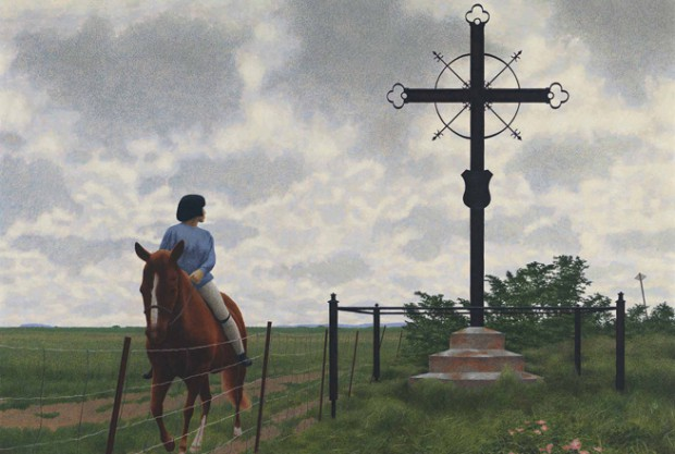 French Cross, 1988 - Alex Colville