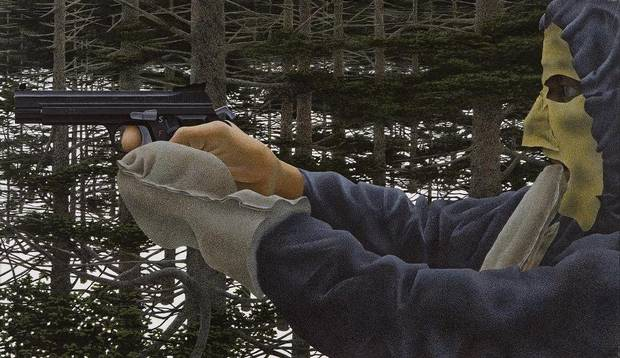 In the Woods - Alex Colville