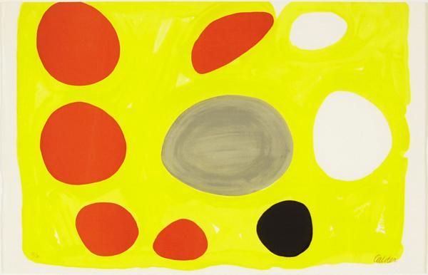 Grey Oval, 1975 - Alexander Calder
