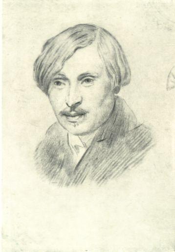 N. V. Gogol, 1841