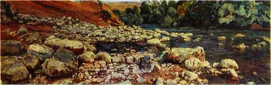 Stones on a River Shore, 1846