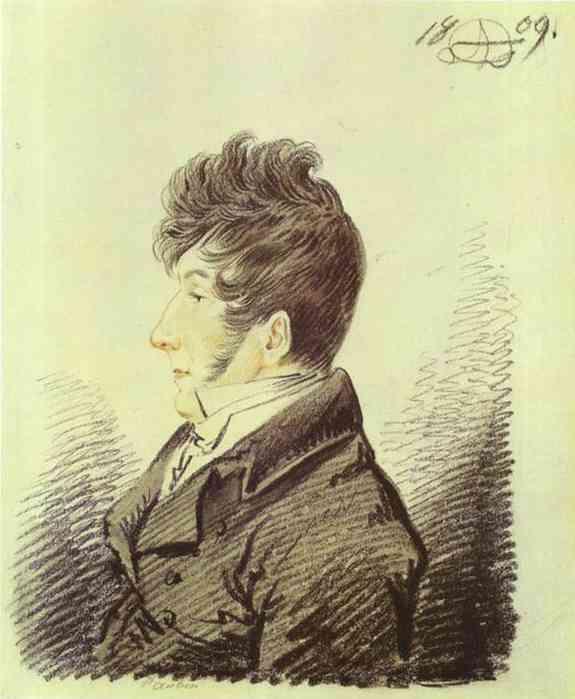 Portrait of Petr Shalikov, 1809