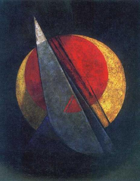 Composition (Winning Red), 1918 - Alexander Rodchenko