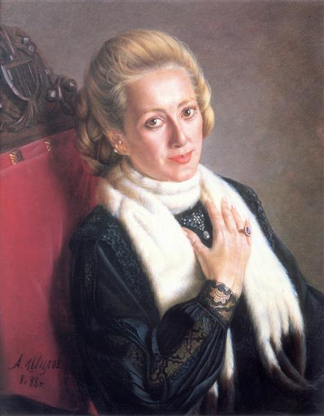 Galya, 1988 - Alexander Shilov