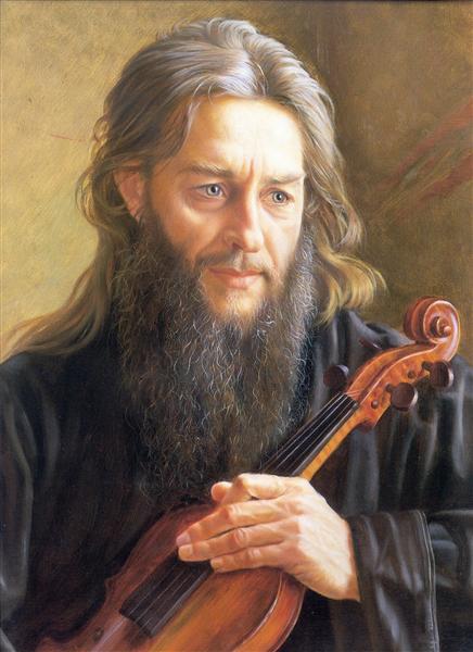 Igumen Zinoviy, 1991 - Alexander Shilov