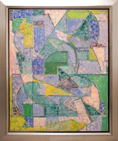 Composition verte, 1956 - Alexandre Istrati
