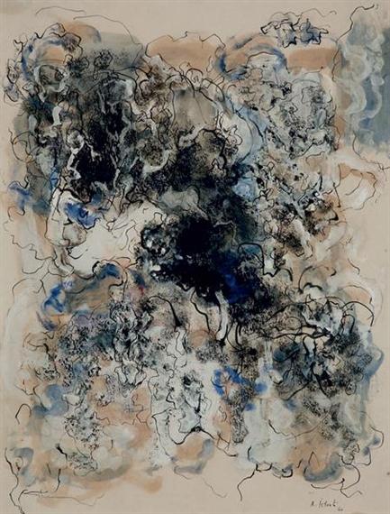 Untitled, 1960 - Александр Истрати