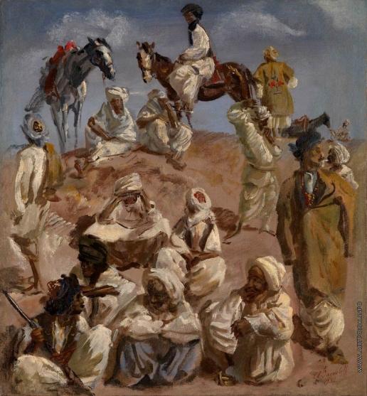 Afghans, 1932 - Alexandre Jacovleff