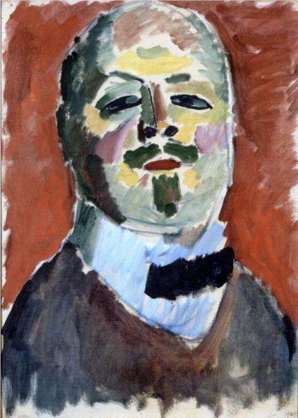 Self-portrait, 1905 - Alexej von Jawlensky