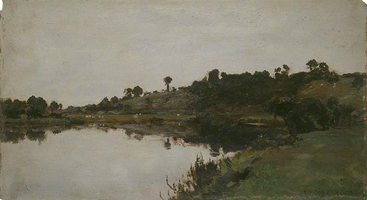 River Landscape - Alfred Parsons