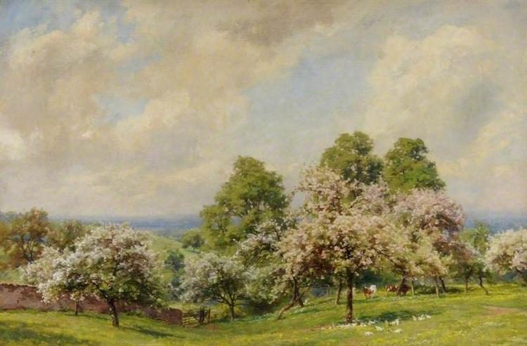 Spring Sunshine - Alfred Parsons