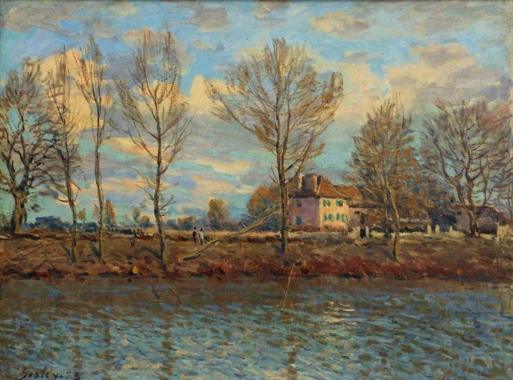 Grand Jatte, 1873 - Alfred Sisley
