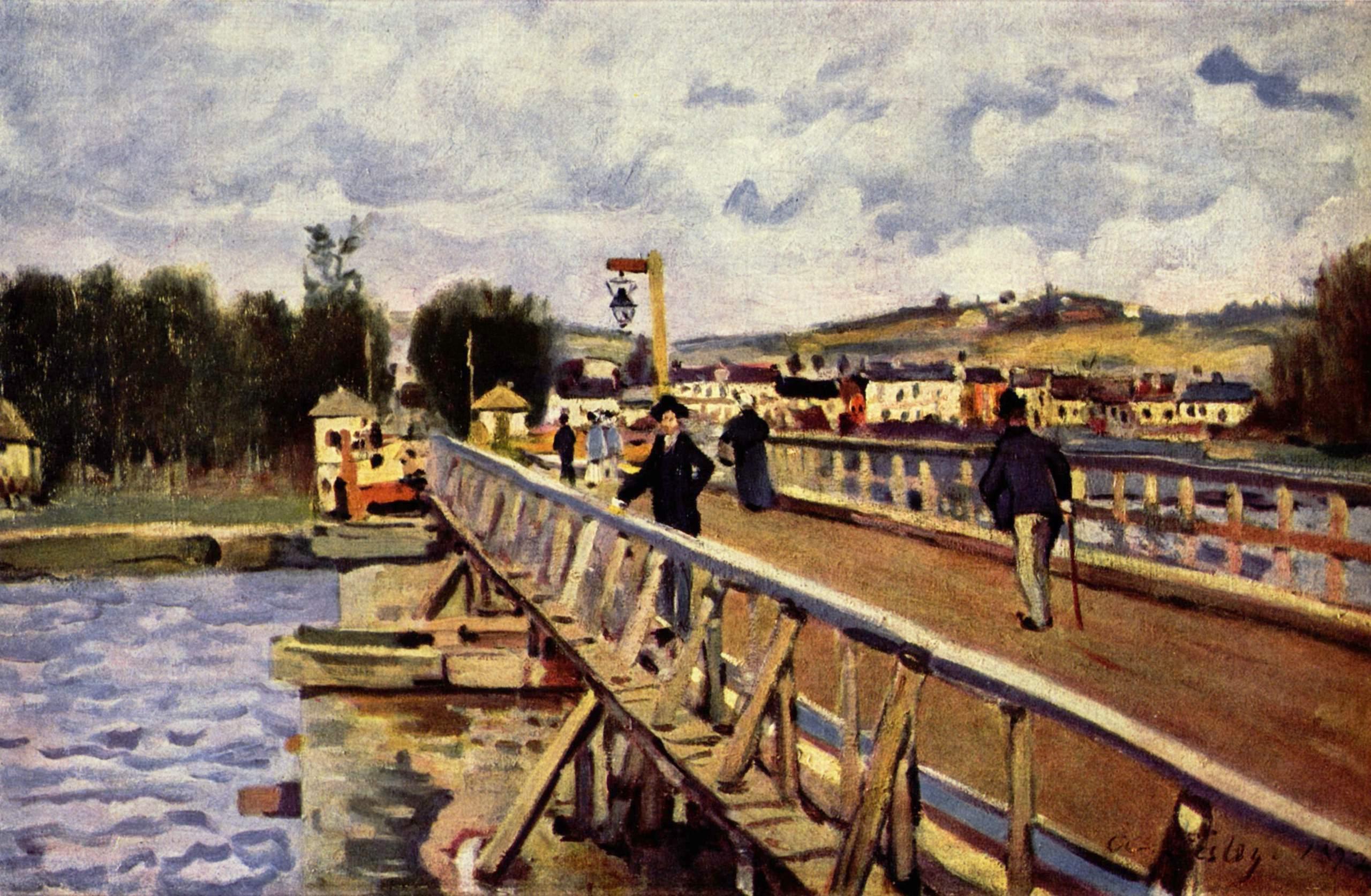 Alfred Sisley, (1839 - 1899) Langland-bay-1872