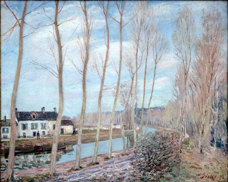 River Loing, 1892 - Alfred Sisley