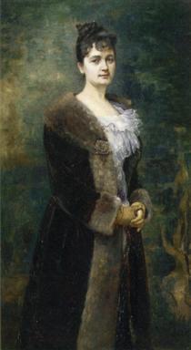 Portrait of M. L. Bion - Alfred Stevens