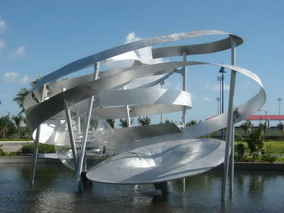 Waterworks Sculpture Proposal for the Central Broward Regional Park, 2008 - Alice Aycock