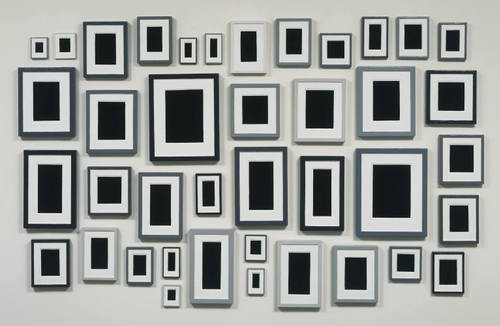 Collection of Forty Plaster Surrogates, 1982 - Allan McCollum