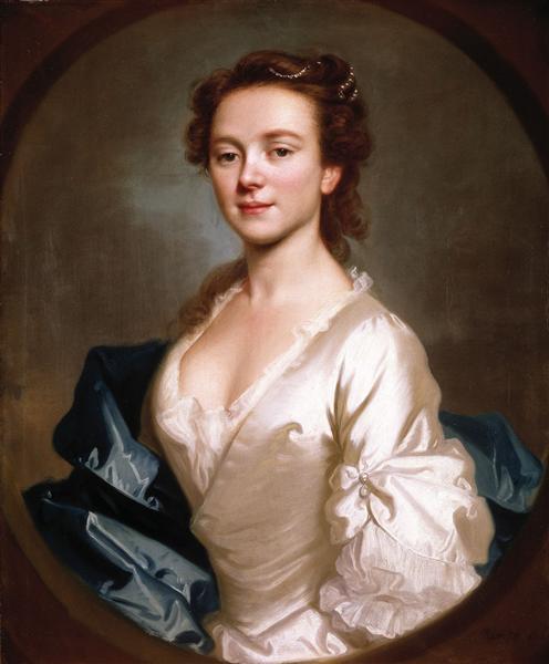 Miss Craigie, 1741 - Allan Ramsay
