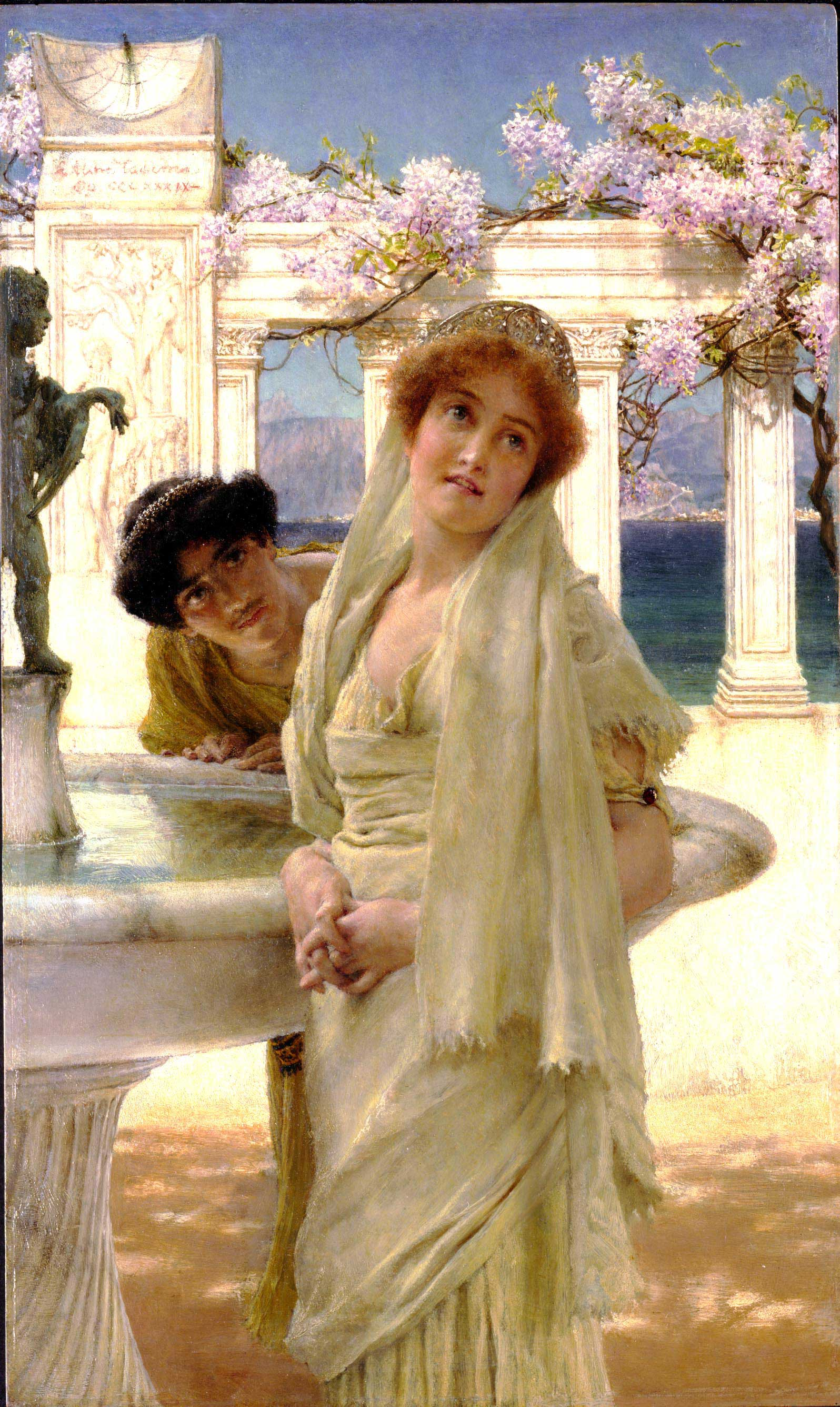 Lawrence Alma-Tadema - Page 2 A-difference-of-opinion-1896