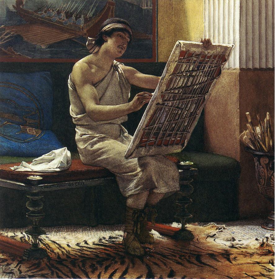 A Roman Artist, 1874