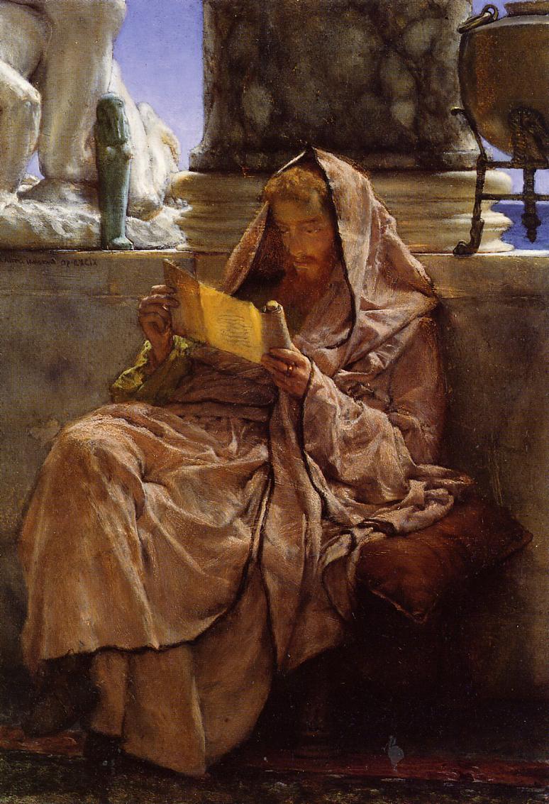 Lawrence Alma-Tadema - Page 3 Prose-1879