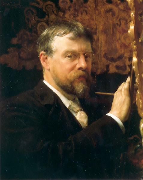 Self-Portrait, 1896 - Sir Lawrence Alma-Tadema