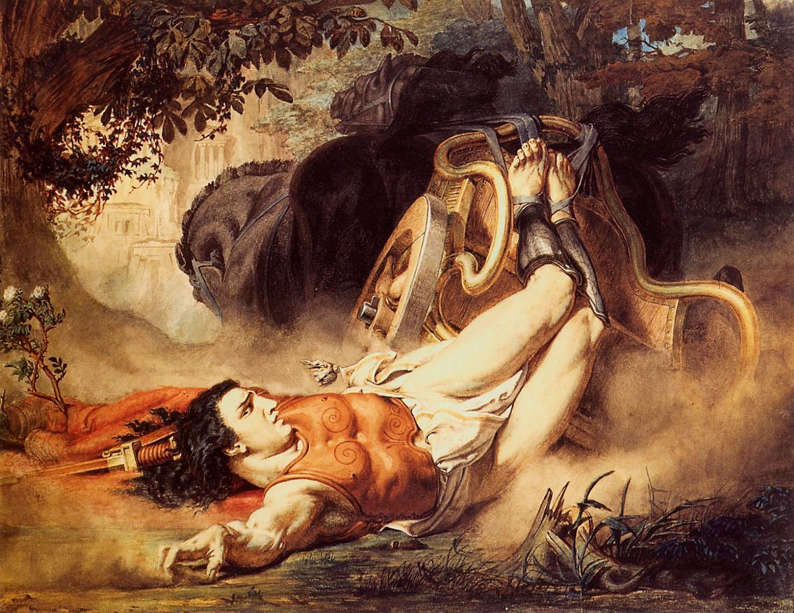 The Death of Hippolytus, 1860